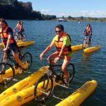 Pedalear sobre el río Calle Calle: la nueva moda en Valdivia