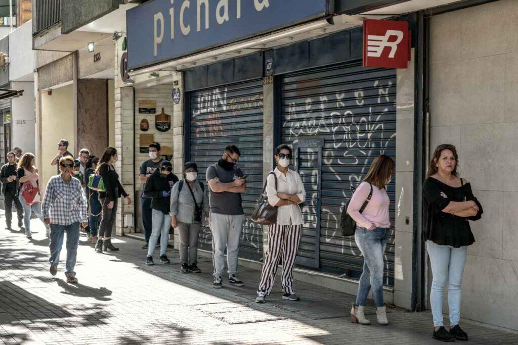 Alza de casos en Chile